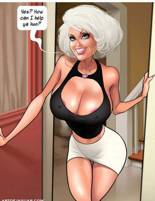 cartoon milf porn